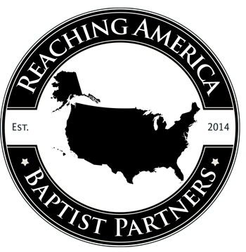 American country outline with REACHING AMERICA text circling it