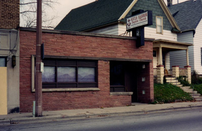 Souls Harbor Baptist Church building in 1991, exterior photo