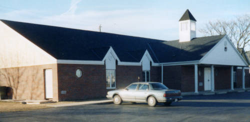 Souls Harbor Baptist Church building in 2003, exterior photo